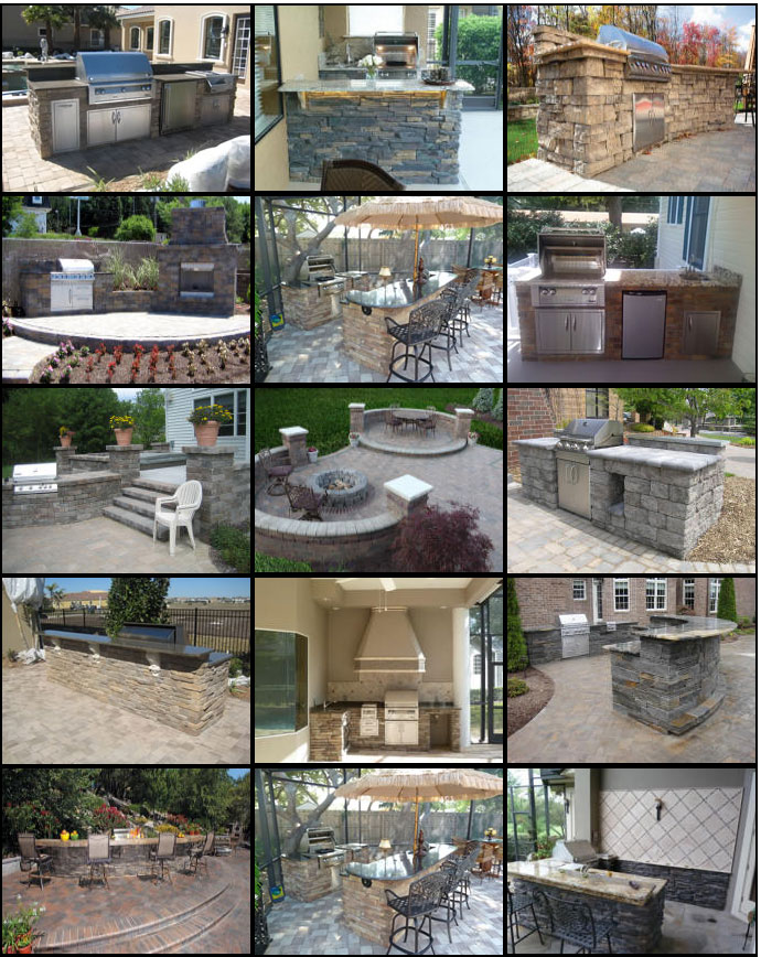 Outdoor Kitchens Easy To Emble